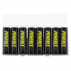 PowerEx Precharged 2600 mAh AA NiMH 8 Pack Rechargeable Batteries