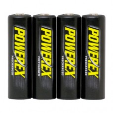 PowerEx Precharged 2600 mAh AA NiMH Rechargeable Batteries